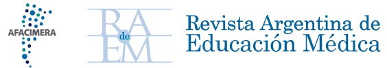 Revista Argentina de Educación Médica Logo